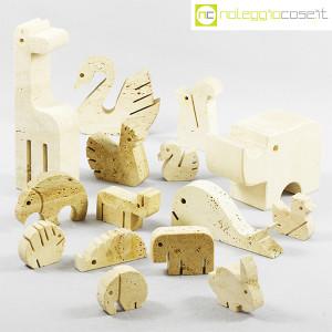 Elefante e giraffa in travertino (9)