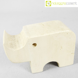 Elefante in travertino (3)