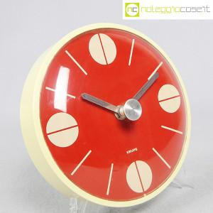 Krups, orologio da muro quadrante rosso (2)