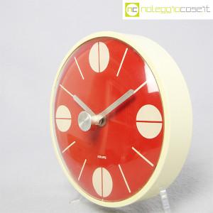 Krups, orologio da muro quadrante rosso (3)