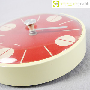 Krups, orologio da muro quadrante rosso (7)