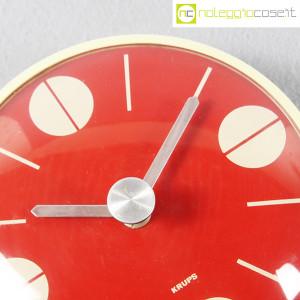 Krups, orologio da muro quadrante rosso (8)