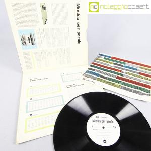 Olivetti, disco LP 33 giri Musica per parole, grafica Marcello Nizzoli (4)