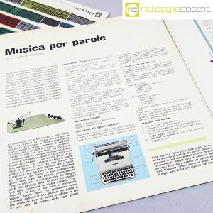Olivetti, disco LP 33 giri Musica per parole, grafica Marcello Nizzoli (9)