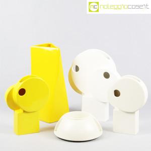 Parravicini Ceramiche, coppia vasi colore giallo (9)