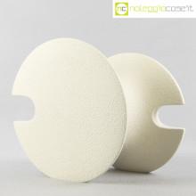 Ceramica astratta bianca