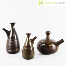 Ceramiche Pozzi caraffe marroni