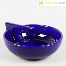 Il Picchio portaoggetti ceramica blu