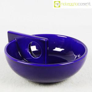 Il Picchio, ceramica portaoggetti blu (1)