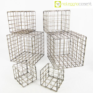 Strutture a reticolo geometriche metallo in acciaio (1)
