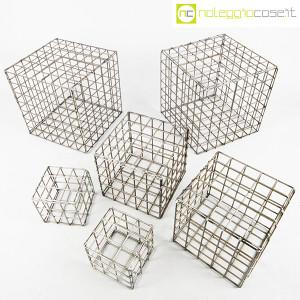 Strutture a reticolo geometriche metallo in acciaio (2)