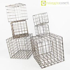 Strutture a reticolo geometriche metallo in acciaio (3)
