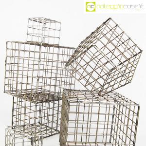 Strutture a reticolo geometriche metallo in acciaio (4)