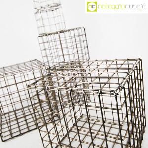 Strutture a reticolo geometriche metallo in acciaio (5)