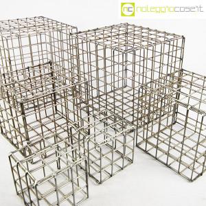 Strutture a reticolo geometriche metallo in acciaio (6)
