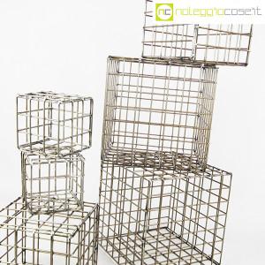 Strutture a reticolo geometriche metallo in acciaio (7)
