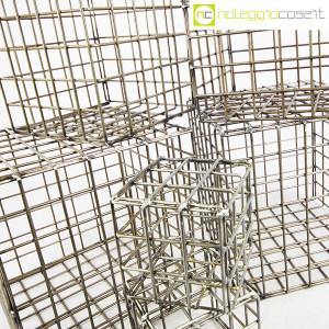 Strutture a reticolo geometriche metallo in acciaio (8)