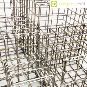 Strutture a reticolo geometriche metallo in acciaio (9)