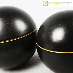 Ceramiche Bucci, coppia oggetti sferici, Franco Bucci (5)