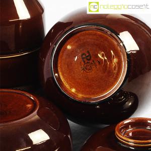 Ceramiche Franco Pozzi, brocche e contenitore marroni, Ambrogio Pozzi (8)