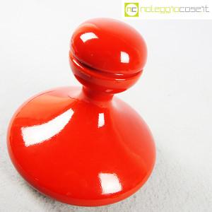 Parravicini Ceramiche, vaso rosso con tappo (3)