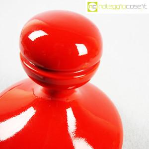 Parravicini Ceramiche, vaso rosso con tappo (4)
