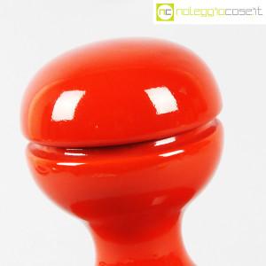 Parravicini Ceramiche, vaso rosso con tappo (6)