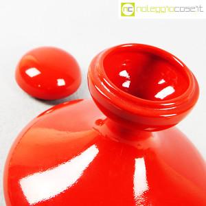 Parravicini Ceramiche, vaso rosso con tappo (7)