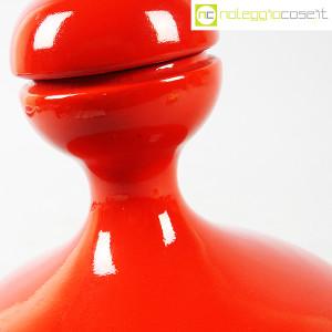 Parravicini Ceramiche, vaso rosso con tappo (8)