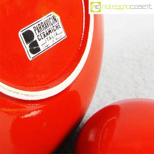 Parravicini Ceramiche, vaso rosso con tappo (9)
