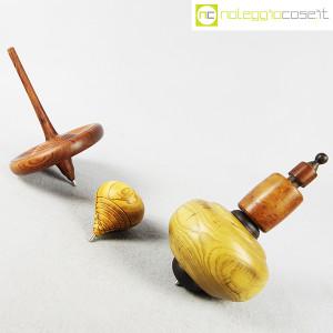 Trottole in legno con supporto (3)