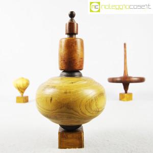 Trottole in legno con supporto (4)