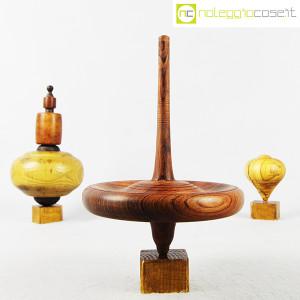 Trottole in legno con supporto (5)