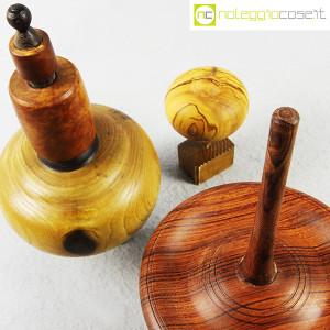 Trottole in legno con supporto (7)