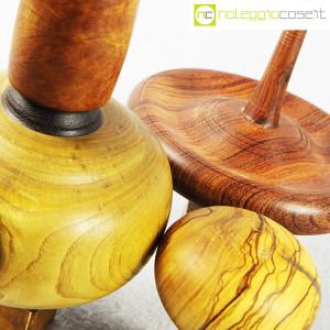Trottole in legno con supporto (8)