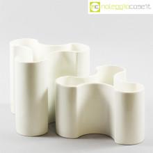 Ceramiche componibili trifoglio bianche