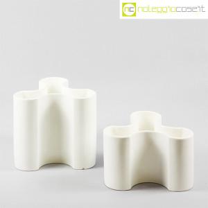 Ceramiche componibili trifoglio bianche (2)