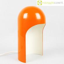 Lampada space age arancione