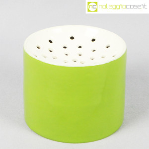 Zanolli & Sebellin, vaso verde bianco, Ico Parisi (1)
