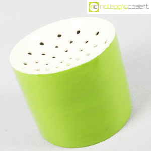 Zanolli & Sebellin, vaso verde bianco, Ico Parisi (2)