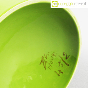 Zanolli & Sebellin, vaso verde bianco, Ico Parisi (9)