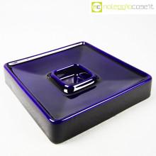 Ceramiche Brambilla posacenere blu