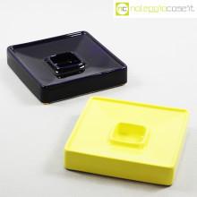 Ceramiche Brambilla posacenere quadrato