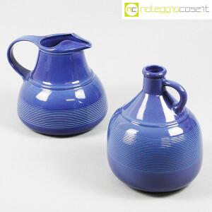 Ceramiche Bucci, brocche blu, Franco Bucci (1)