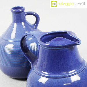 Ceramiche Bucci, brocche blu, Franco Bucci (5)