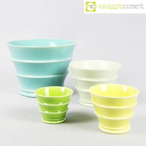 Ceramiche Laveno, portavasi in ceramica mod. Caprera, Guido Andlovitz (1)