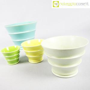 Ceramiche Laveno, portavasi in ceramica mod. Caprera, Guido Andlovitz (3)