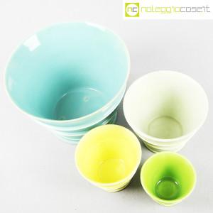 Ceramiche Laveno, portavasi in ceramica mod. Caprera, Guido Andlovitz (4)