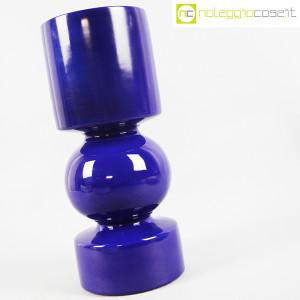 Vaso blu a cilindro sagomato (2)