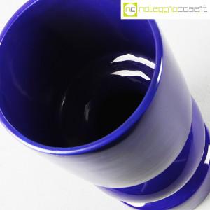 Vaso blu a cilindro sagomato (6)